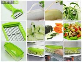 Революционно кухненско ренде - Nicer Dicer Plus 2