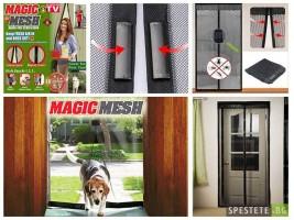 Мрежа за насекоми с магнитно закопчаване - Magic Mesh