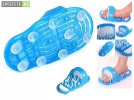 Ексфолиране на загрубялата кожа на краката с Easy Feet