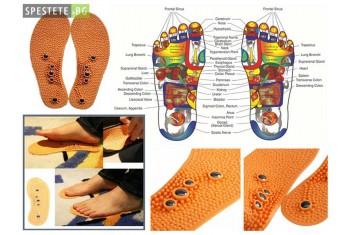 Масажиращи магнитни стелки - Massage Insole