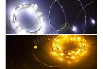 Соларни коледни лампички