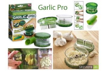 Многофункционален уред за рязане на чесън и др. - Garlic Pro