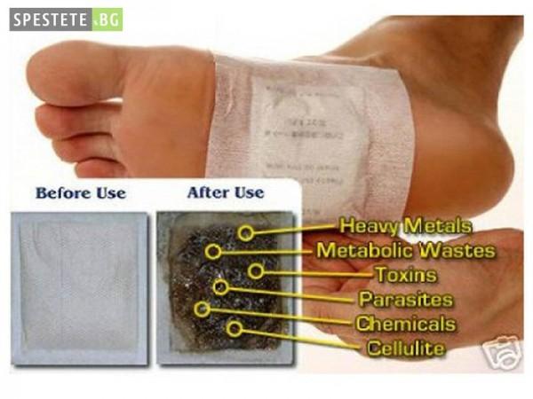 Пластири за детоксикация - Kinoki Detox Pads
