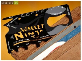 Wallet Ninja - мултифункционално приспособление за портфейл