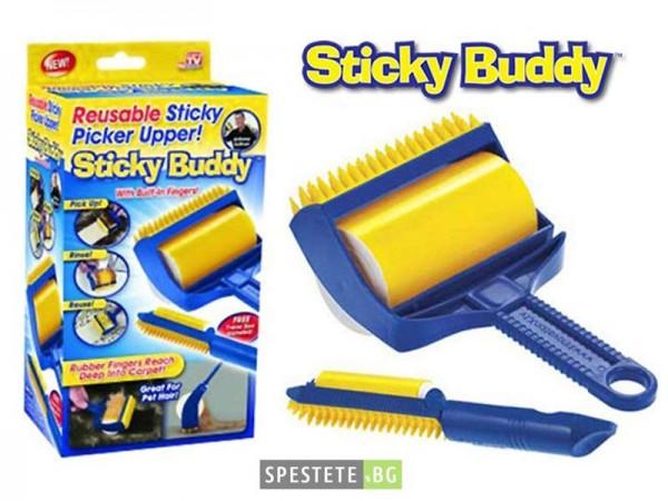 Комплект ролери за премахване на косми и прах - Sticky Buddy