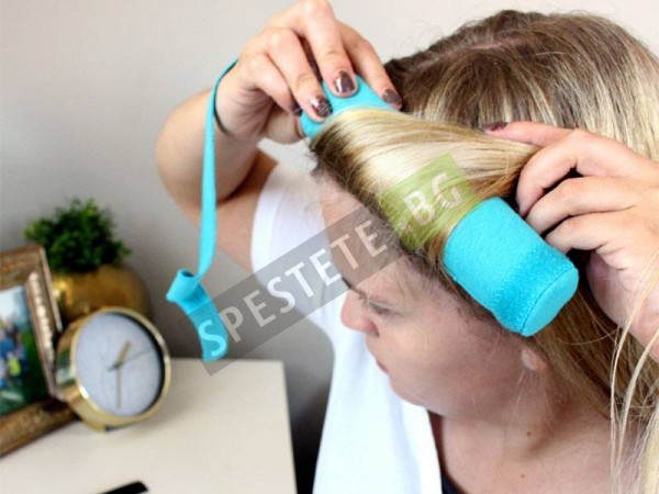 Ролки за коса докато спите