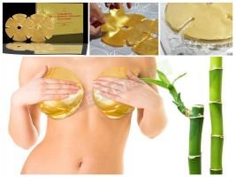 Златна колагенова маска за гърди