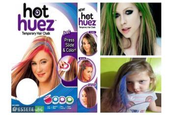 Hot Huez - система за лесно боядисване на кичури