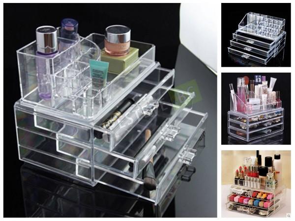 Луксозен органайзер за козметика и бижута