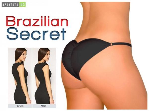 Бразилско бельо за повдигане на задните части Brazilian Secret
