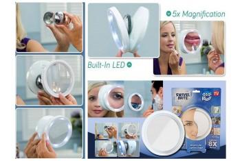 Въртящо се LED огледало