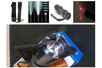 Електрошок фенер лазер FT1288