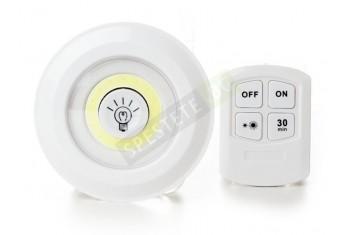 Комплект 3бр. лампи на батерии с дистанционно