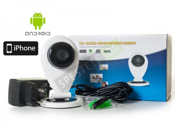 Малка безжична камера за видеонаблюдение