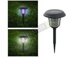Соларна градинска лампа и капан за насекоми 2в1