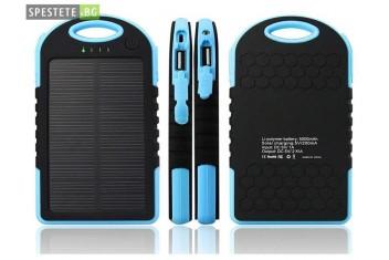 Водоустойчиво соларно зарядно Solar Charger 5000mAh