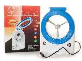 3в1 лампа вентилатор и прожектор