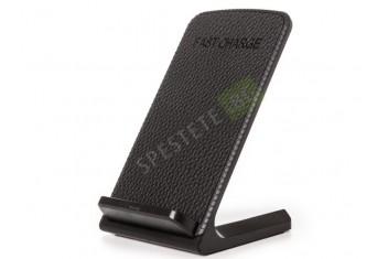 Безжично зарядно за телефон със стойка