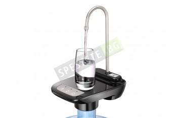 Диспенсър помпа за вода с поставка за чаша