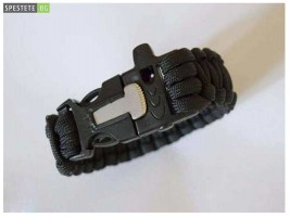 Гривна за оцеляване 3в1 Survival bracelet
