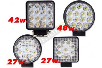 LED фар за автомобил 27W
