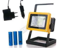 LED прожектор с акумулаторни батерии