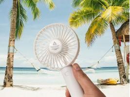 Мини вентилатор с презареждаема батерия