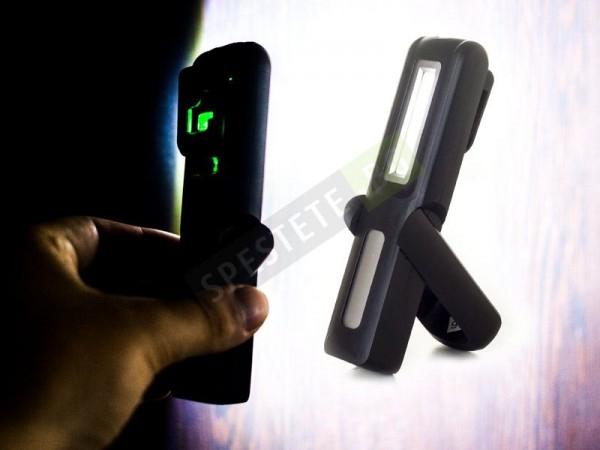Силна работна лампа с презареждаща батерия