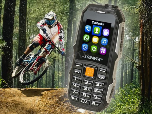 Удароустойчив GSM с две SIM карти