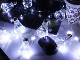 Коледни лампички крушки