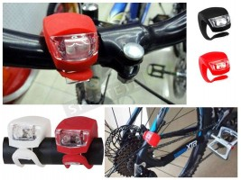 Силиконови LED светлини за колело