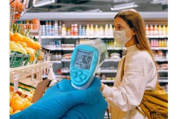 Безконтактен инфрачервен термометър