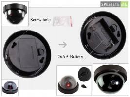 Фалшива куполна камера за видео наблюдение