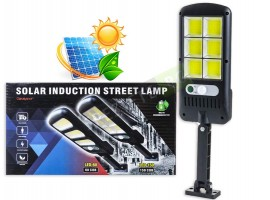 Компактна соларна външна лампа
