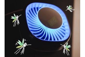 LED лампа против комари и насекоми