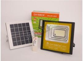 LED прожектор със соларен панел