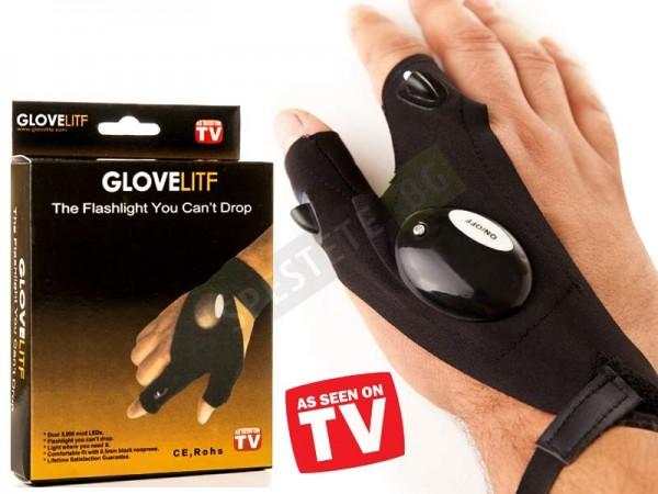 Работна ръкавица с LED светлина