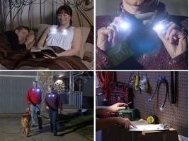 Сгъваема LED Лампа за врат