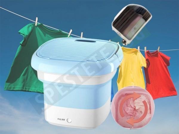 Сгъваема пералня машина