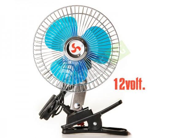 Силен вентилатор на 12V