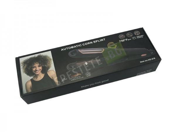 Автоматична преса за коса за обем и вафлички