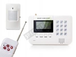 Безжична oхранителна система и сензор за пожар