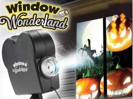 Коледен и Хелуин проектор за декорация на прозорци