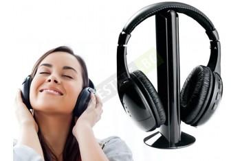Многофункционални безжични слушалки - 5 в 1