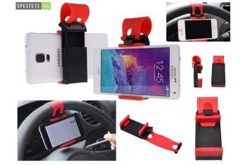 Стойка за телефон за волана на автомобил