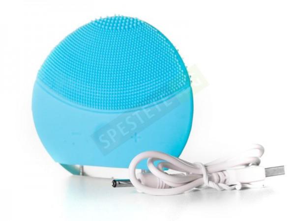 Вибриращ силиконов уред за почистване на лице