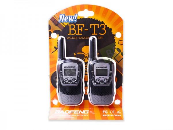Комплект 2бр. радиостанции Baofeng BF-T3