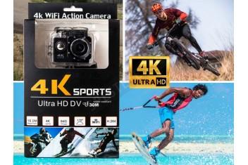 Спортна водоустойчива камера 4К