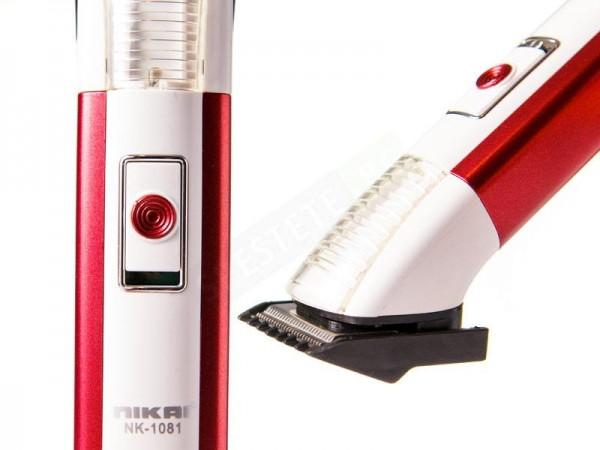 Акумулаторна машинка за подстригване със светлина 1081