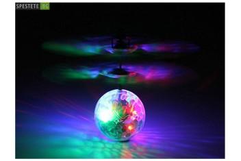 Летяща диско топка с дистанционно